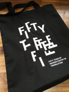 Modern Poetry in Translation Fiftieth anniversary bag