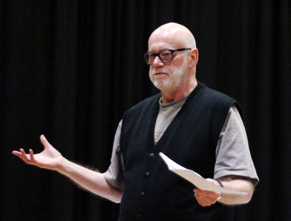 Ian Duhig, Exeter Poetry Festival 2015 Image courtesy of Ian Beech