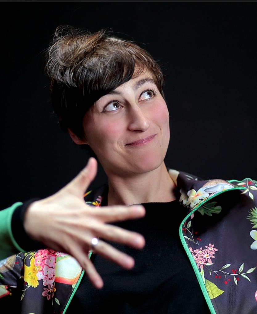 Ulrike Almut Sandig, photo: Wolfgang Frank