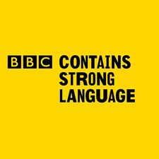 bbc contains strong words logo