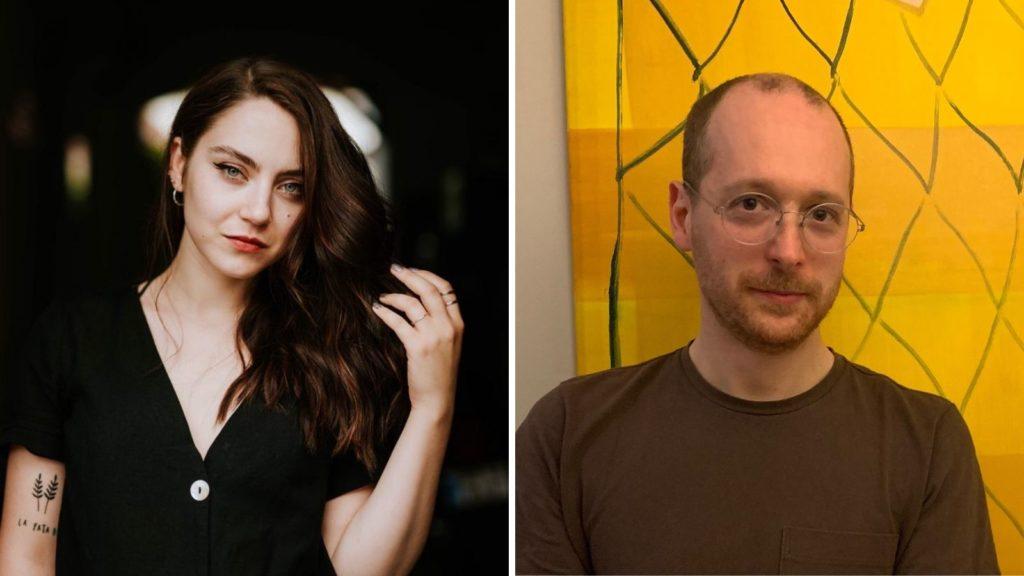 Sam Riviere and Cătălina Stanislav